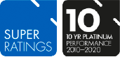 super rating 10 year performance