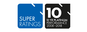 Super Ratings 10 year Platinum Performance