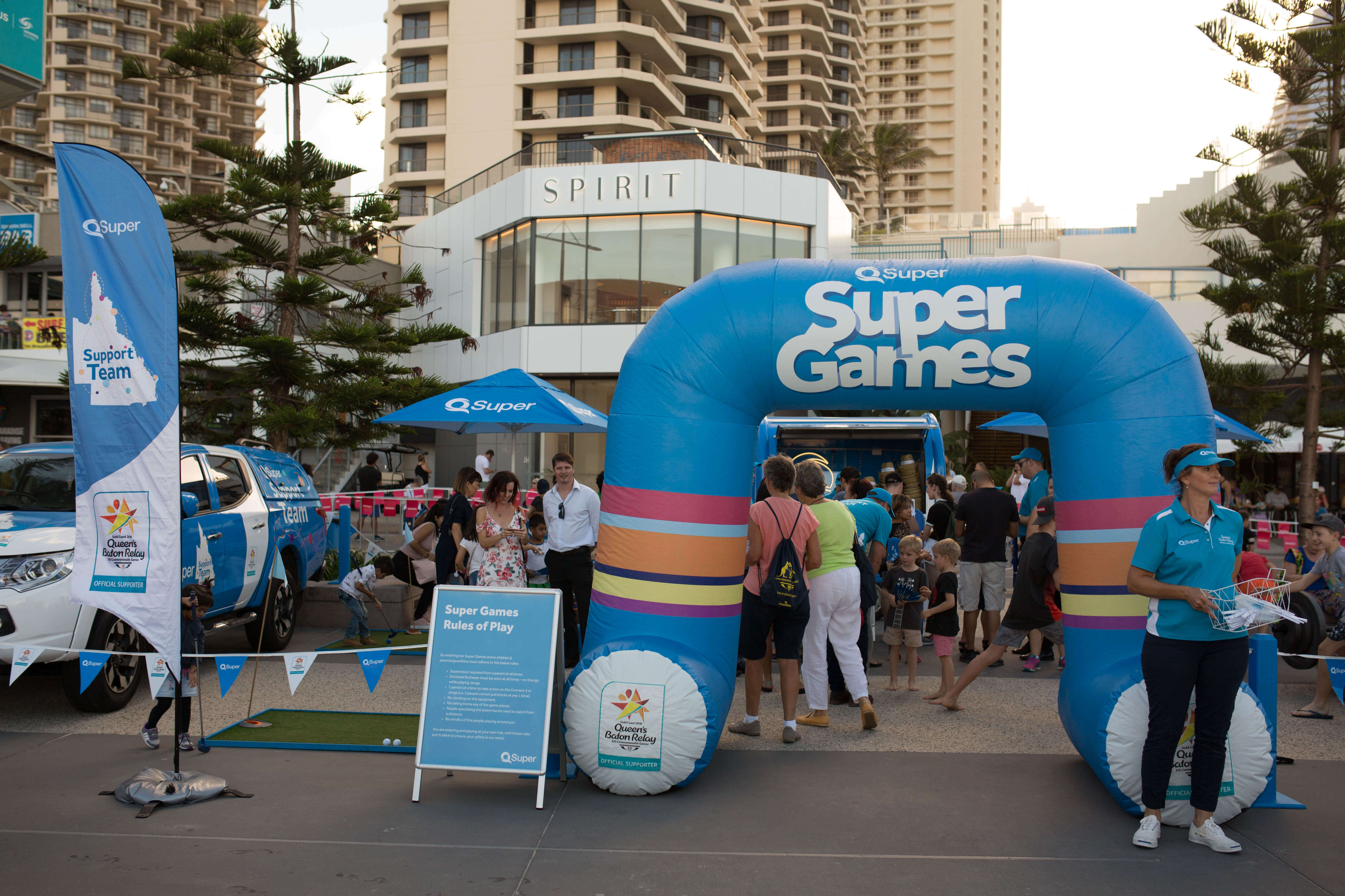 qsuper area in surfers paradise called super games