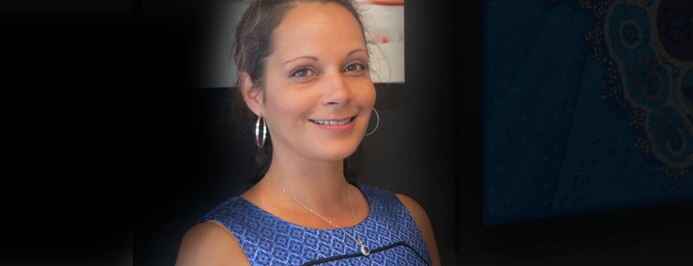 Headshot of Indigenous artist Sally Terare